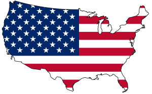 United_States_flag_map